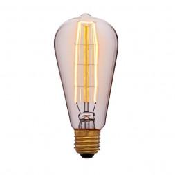 Лампа накаливания E27 40W золотая 053-563