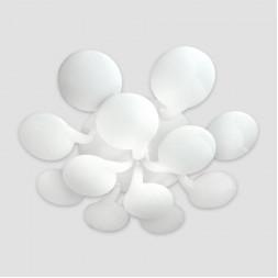 Потолочная светодиодная люстра Ambrella light Orbital Cloud FC26/12 WH 432W D1140