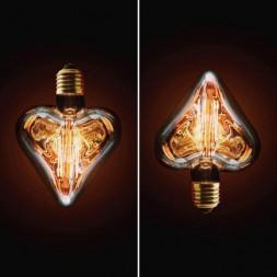Лампа накаливания E27 40W прозрачное 2740-H