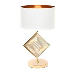 Настольная лампа Lumina Deco Fabi LDT 5529 F.GD+WT