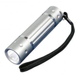 Ручной светодиодный фонарь Uniel (05940) от батареек 60 лм S-LD026-C Silver
