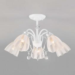 Потолочная люстра Eurosvet Floranse 30155/5 белый