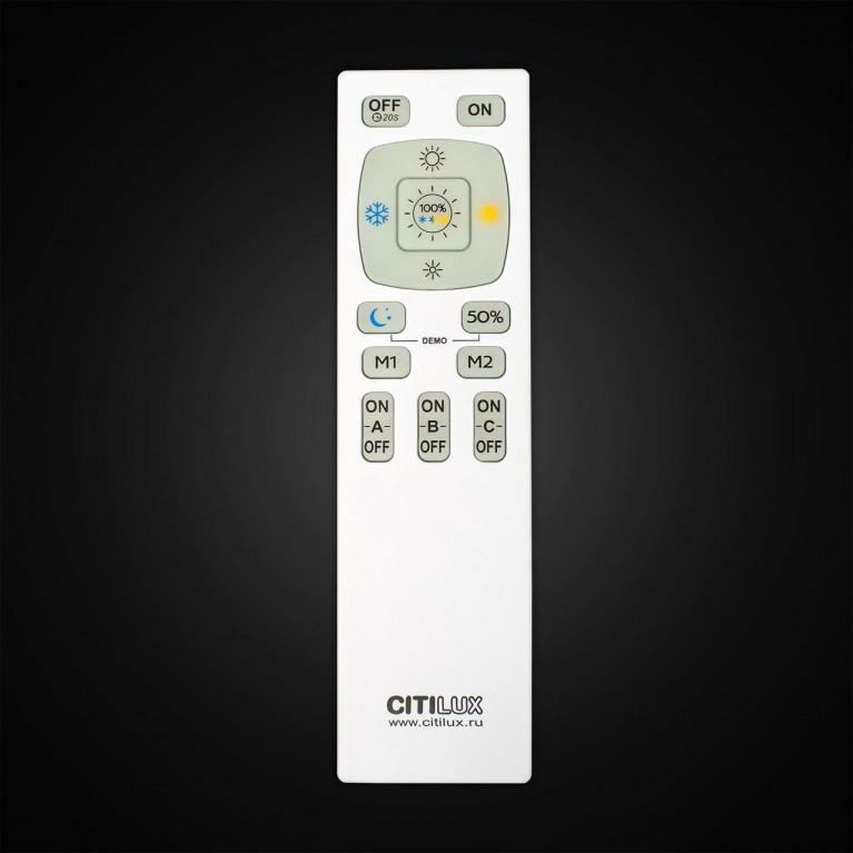Потолочная светодиодная люстра Citilux Паркер CL225240R