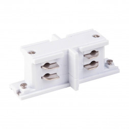 Коннектор прямой внутренний Elektrostandard TRC-1-3-II-WH 4690389112447