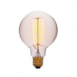 Лампа накаливания E27 40W золотой 051-996