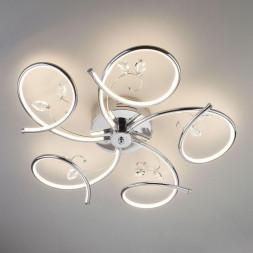 Потолочный светильник Eurosvet 90089/5 хром