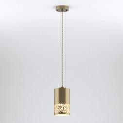 Подвесной светильник Eurosvet 50071/1 античная бронза