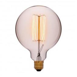 Лампа накаливания E27 40W золотой 052-016a