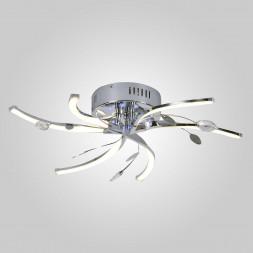 Потолочный светильник Eurosvet 90125/6 хром