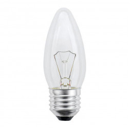 Лампа накаливания (01826) E27 40W прозрачная IL-C35-CL-40/E27