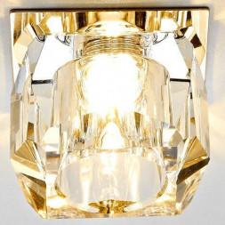 Встраиваемый светильник Ambrella light Glass D1041 CL/G