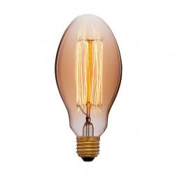 Лампа накаливания E27 40W золотая 052-047