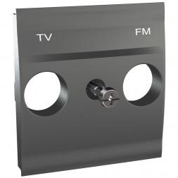 Плата розетки TV/FM Schneider Electric Unica MGU9.440.12