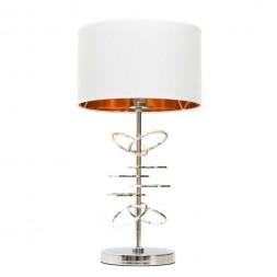 Настольная лампа Lumina Deco Milari LDT 5530 CHR+WT
