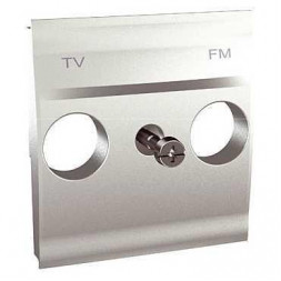 Плата розетки TV/FM Schneider Electric Unica MGU9.440.30