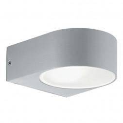 Уличный настенный светильник Ideal Lux Iko AP1 Grigio