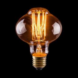 Лампа накаливания E27 60W прозрачная VG6-L85A1-60W 6487