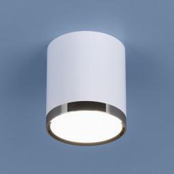 Потолочный светодиодный светильник Elektrostandard DLR024 6W 4200K белый матовый 4690389110368