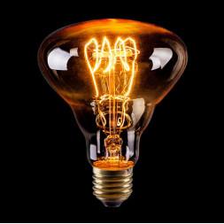 Лампа накаливания E27 60W прозрачная VG6-BR30A3-60W 6499
