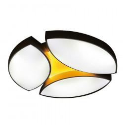 Потолочный светодиодный светильник Ambrella light Orbital Granule FG2070 WH 108W+16W D680