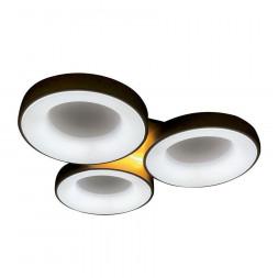 Потолочный светодиодный светильник Ambrella light Orbital Granule FG2071 WH 144W+10W D750*700