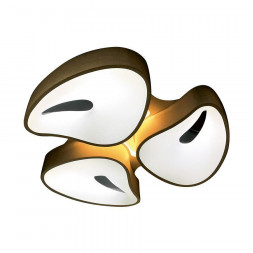 Потолочный светодиодный светильник Ambrella light Orbital Granule FG2083 WH 96W+12W D730*690