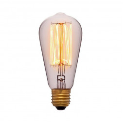 Лампа накаливания E27 60W прозрачная 053-228