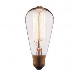 Лампа накаливания E27 60W прозрачная 1008