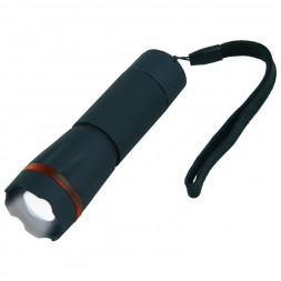 Ручной светодиодный фонарь Uniel (07594) от батареек 105х32 60 лм S-LD037-С Black