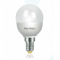 Лампа светодиодная Voltega E14 6W 4000К матовая VG3-G2E14cold6W 4719