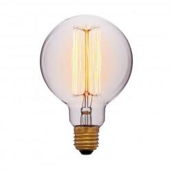 Лампа накаливания E27 60W прозрачная 052-290