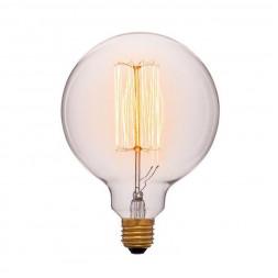 Лампа накаливания E27 60W прозрачная 052-313a