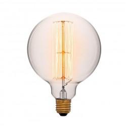 Лампа накаливания E27 60W прозрачная 054-027