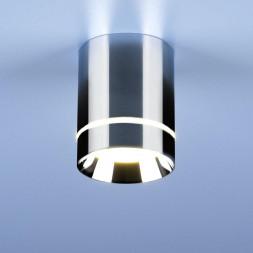 Потолочный светодиодный светильник Elektrostandard DLR021 9W 4200K хром 4690389102936