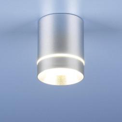 Потолочный светодиодный светильник Elektrostandard DLR021 9W 4200K хром матовый 4690389102943