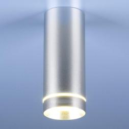 Потолочный светодиодный светильник Elektrostandard DLR022 12W 4200K хром матовый 4690389102950