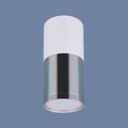 Потолочный светодиодный светильник Elektrostandard DLR028 6W 4200K белый матовый/хром 4690389121975