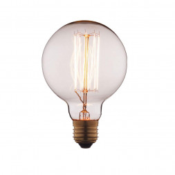 Лампа накаливания E27 60W прозрачная G9560