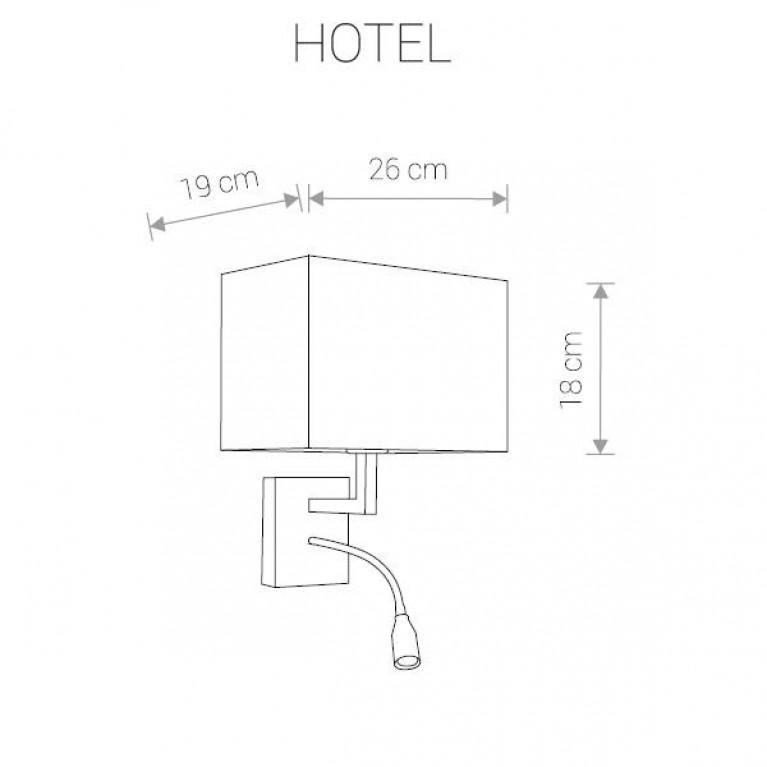 Бра Nowodvorski Hotel 9302