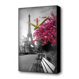Настенные часы Осенний Париж Timebox Toplight 60х37х4см TL-C5015