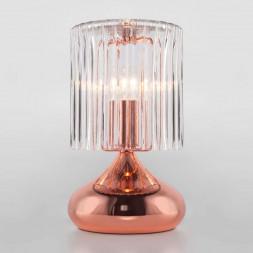 Настольная лампа Eurosvet Bulbo 01068/1 розовое золото