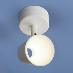 Светодиодный спот Elektrostandard DLR025 5W 4200K белый матовый 4690389115097