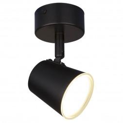 Светодиодный спот Elektrostandard DLR025 5W 4200K черный матовый 4690389115103