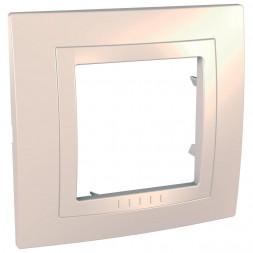 Рамка 1-постовая Schneider Electric Unica MGU2.002.25