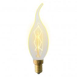 Лампа накаливания (UL-00000483) E14 60W золотистая IL-V-CW35-60/GOLDEN/E14 ZW01