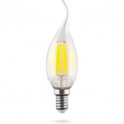 Лампа светодиодная Voltega E14 6,5W 2800K прозрачная VG10-CW35E14warm9W-F 7132