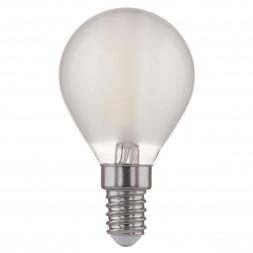 Лампа светодиодная филаментная F E14 6W 4200K матовая 4690389108310