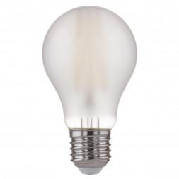 Лампа светодиодная филаментная F E27 8W 4200K матовая 4690389108334