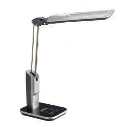 Настольная лампа (09106) Uniel TLD-515 Silver/LED/900Lm/2700-6400K/Dimmer