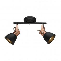 Спот Arte Lamp A1677PL-2BK